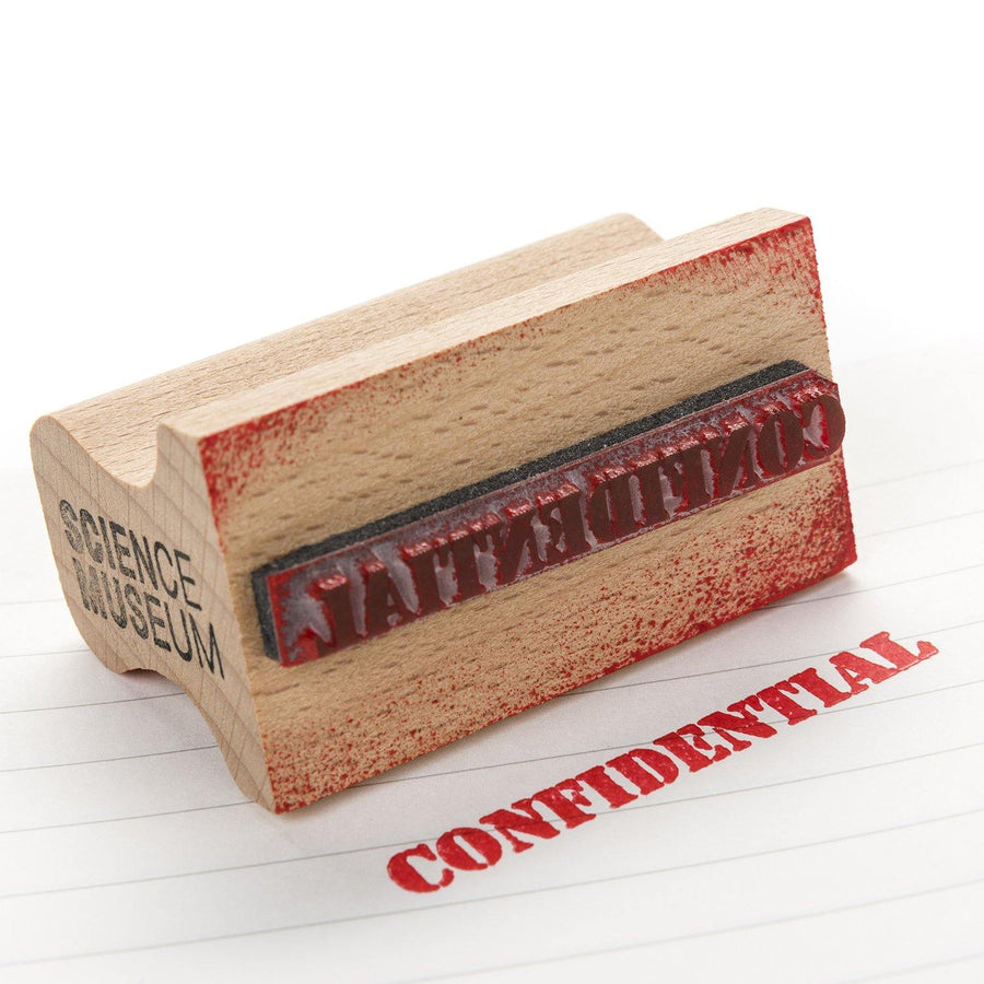 'Confidential' rubber stamp 2