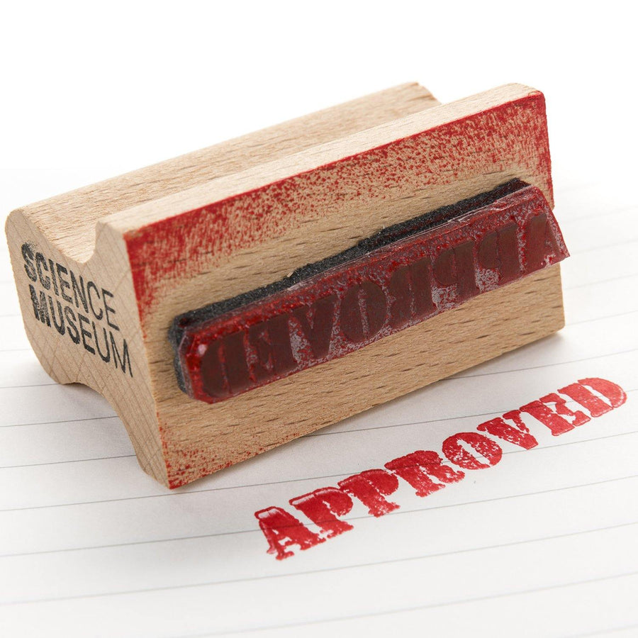 'Approved' rubber stamp 2
