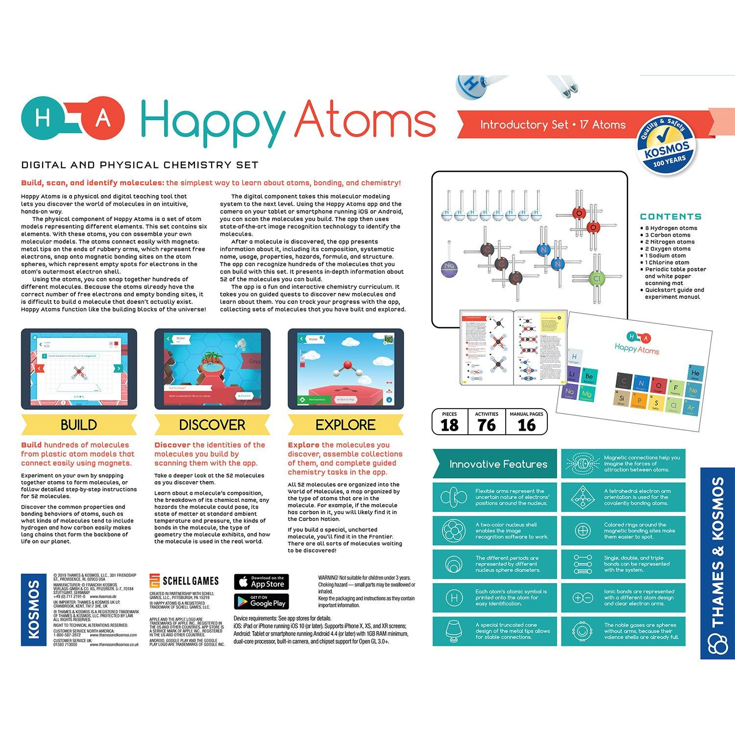 Happy Atoms Introductory Set 2