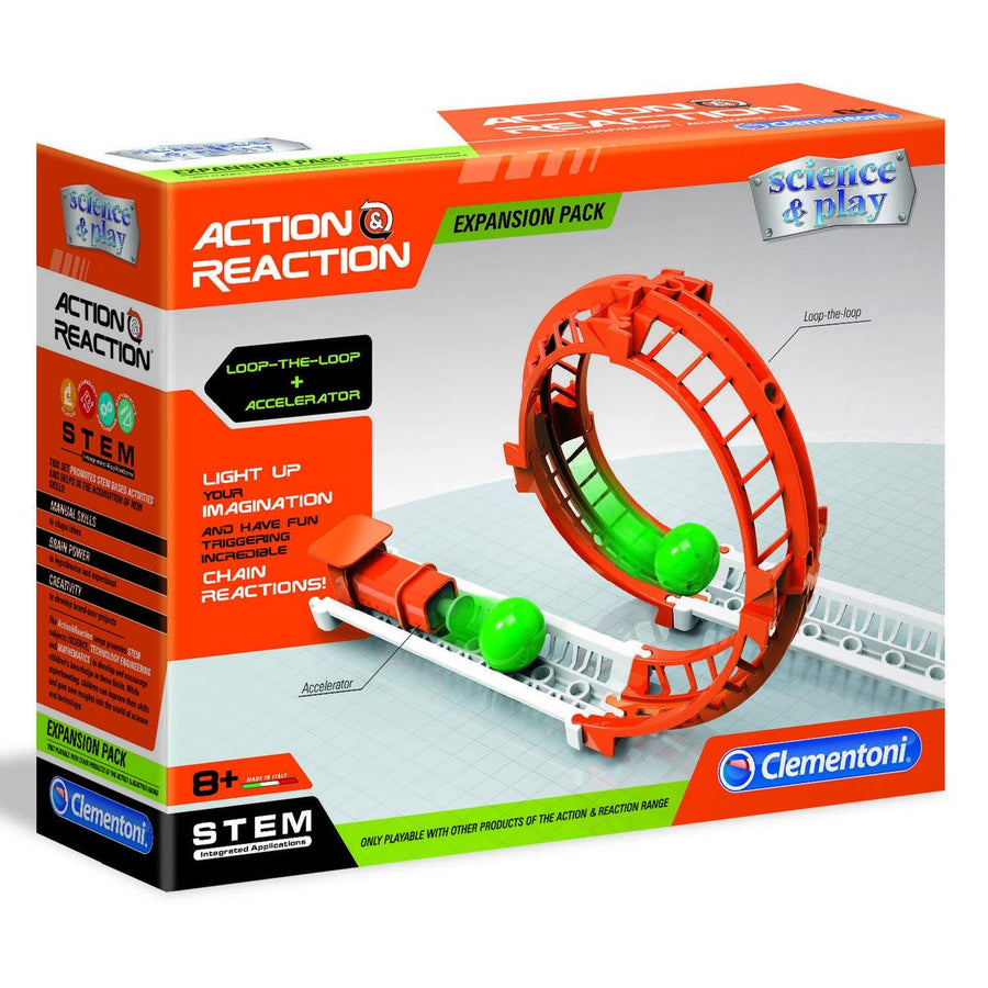 Action & Reaction Loop-The-Loop