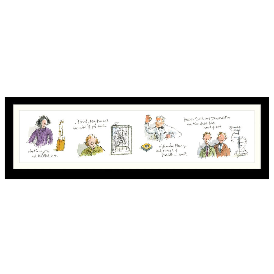 Science Museum Quentin Blake Ayrton-Crick Framed Print