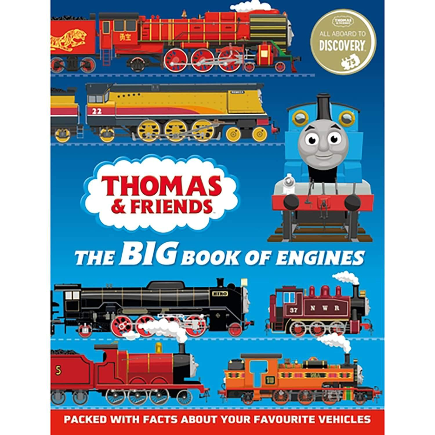 Big Book of Engines 75th Anniversary edition Thomas & Friends
