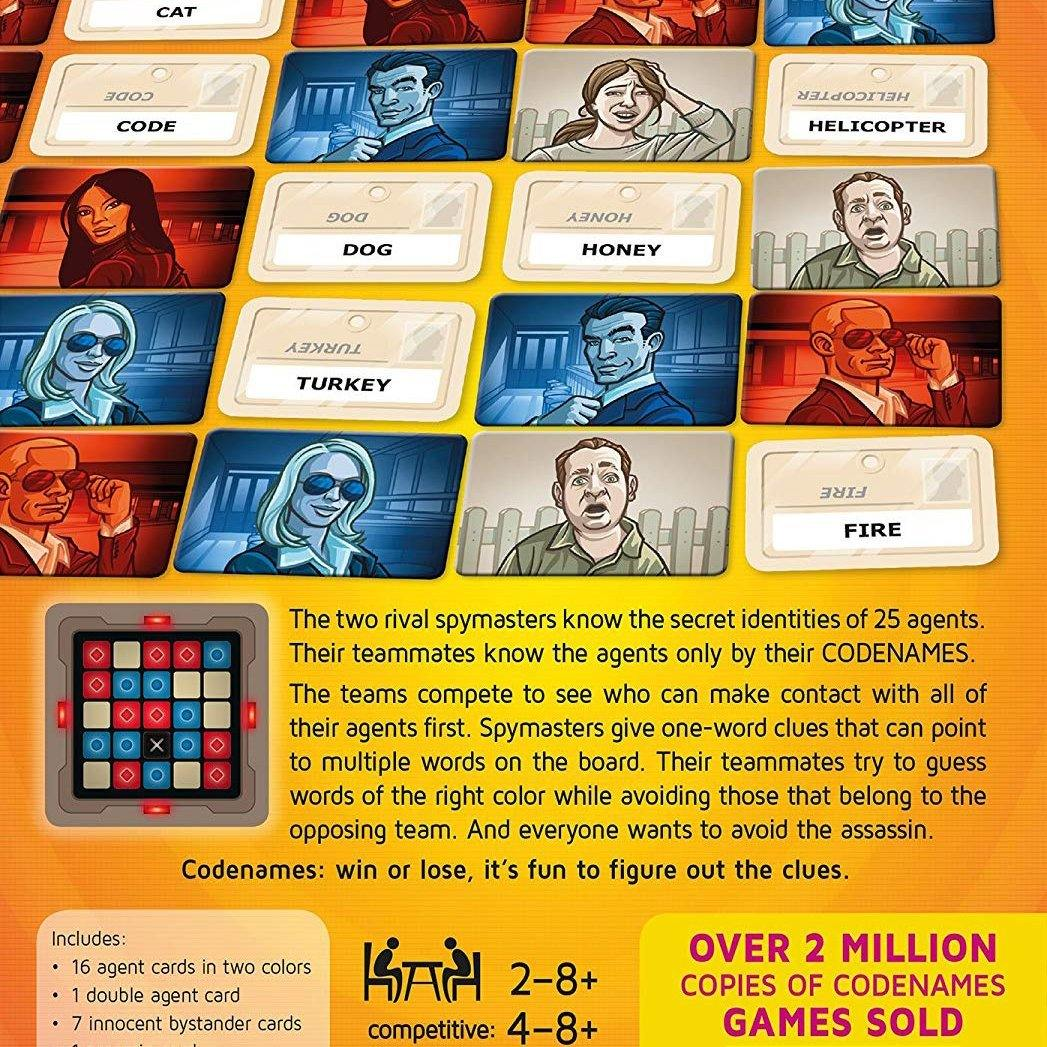Codenames Card Game1