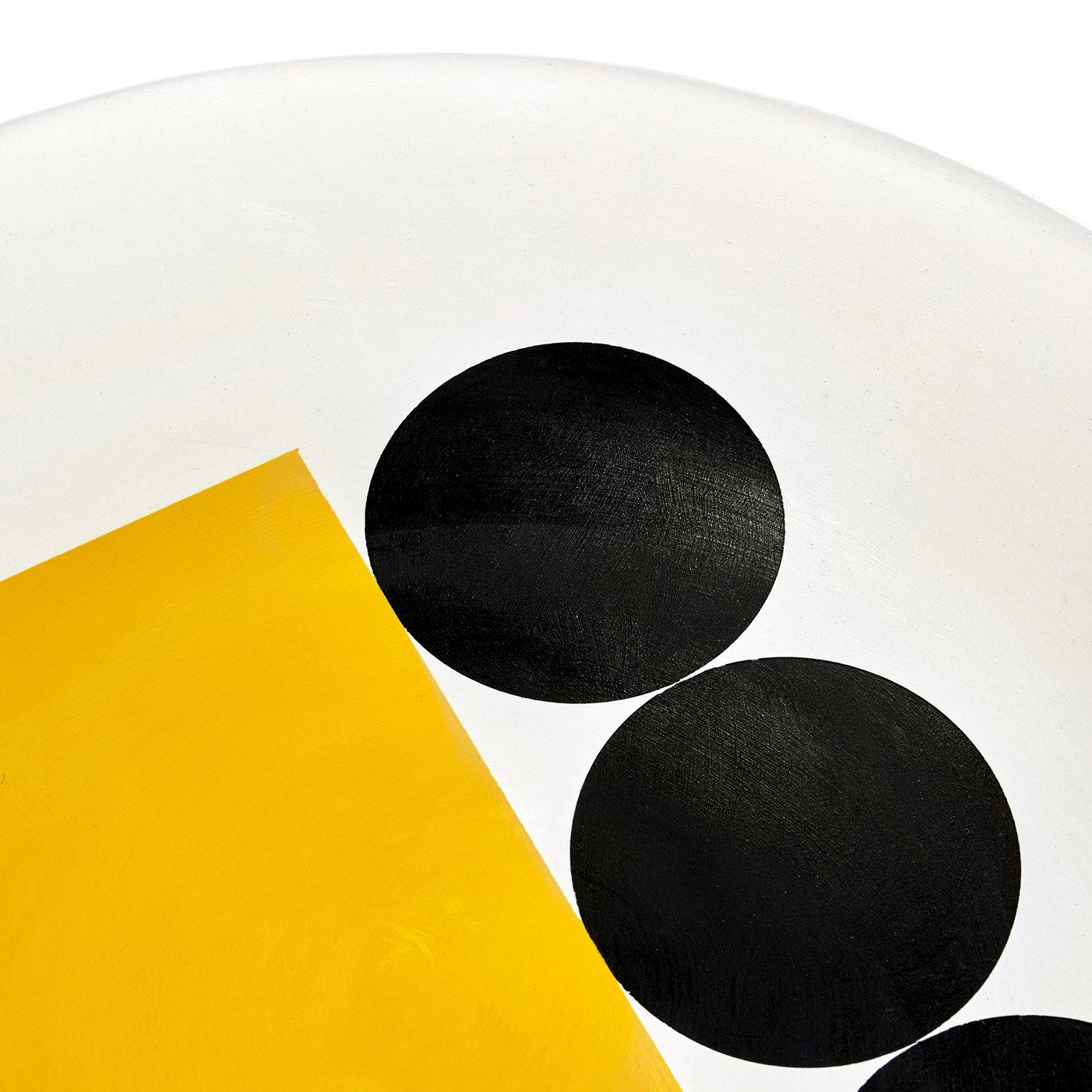 Science Museum Impossible Machines Plate F Yellow/Black 3