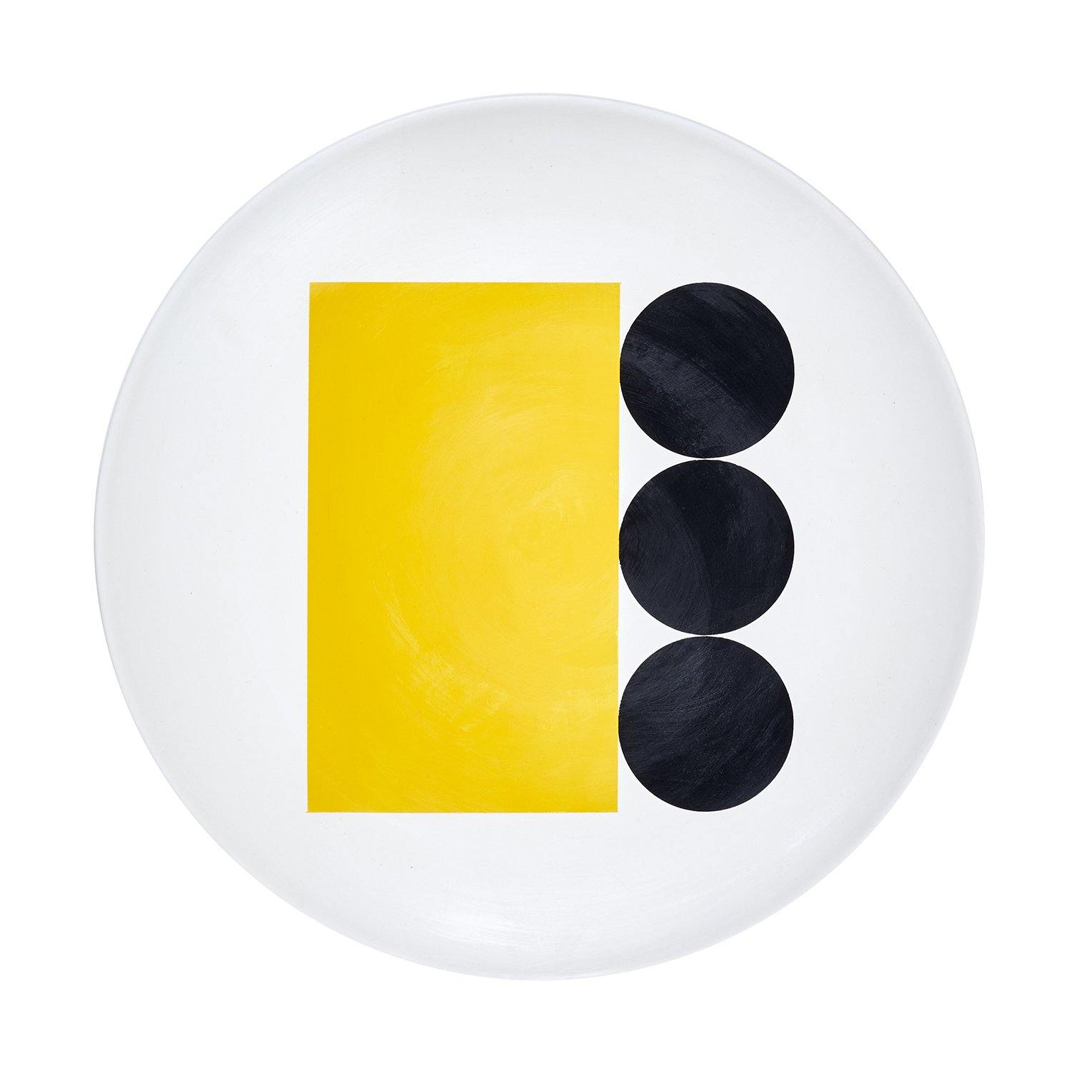 Science Museum Impossible Machines Plate F Yellow/Black 4