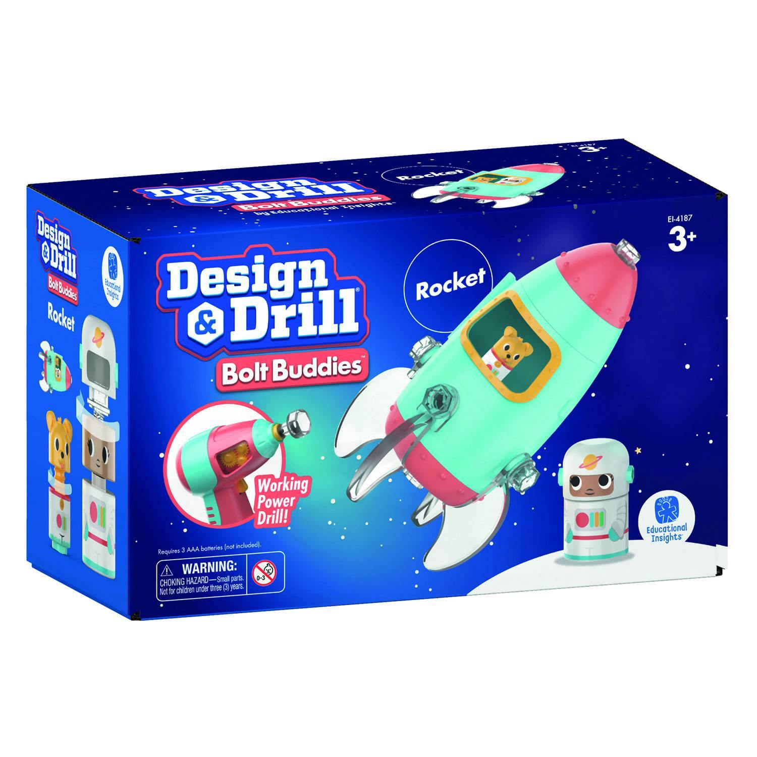 Design & Drill Build Your Own Rocket Kit 9