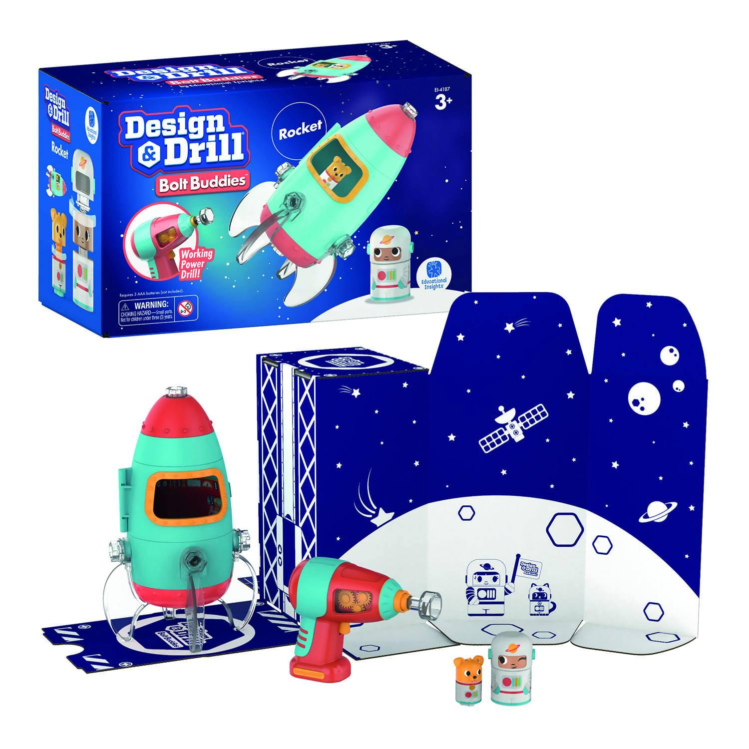 Design & Drill Build Your Own Rocket Kit 10