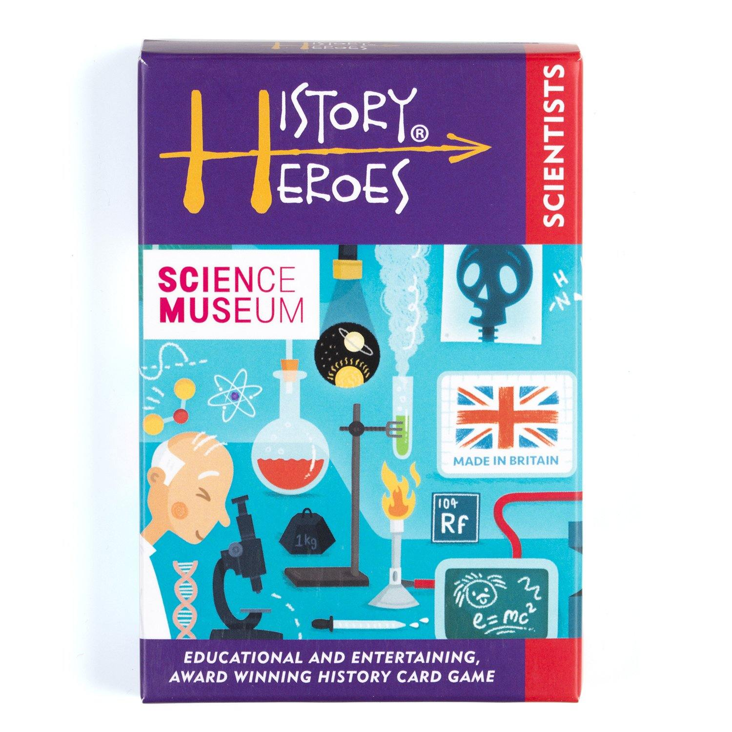 Science Museum History Heroes: Scientists