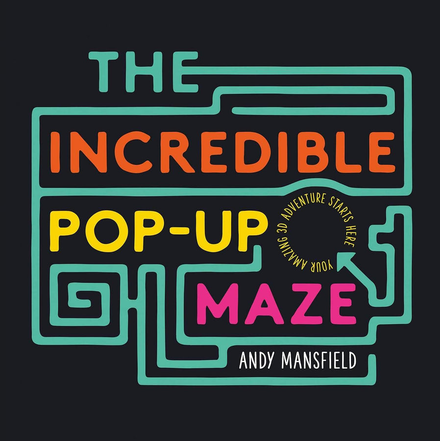 Incredible Pop-Up Maze cover