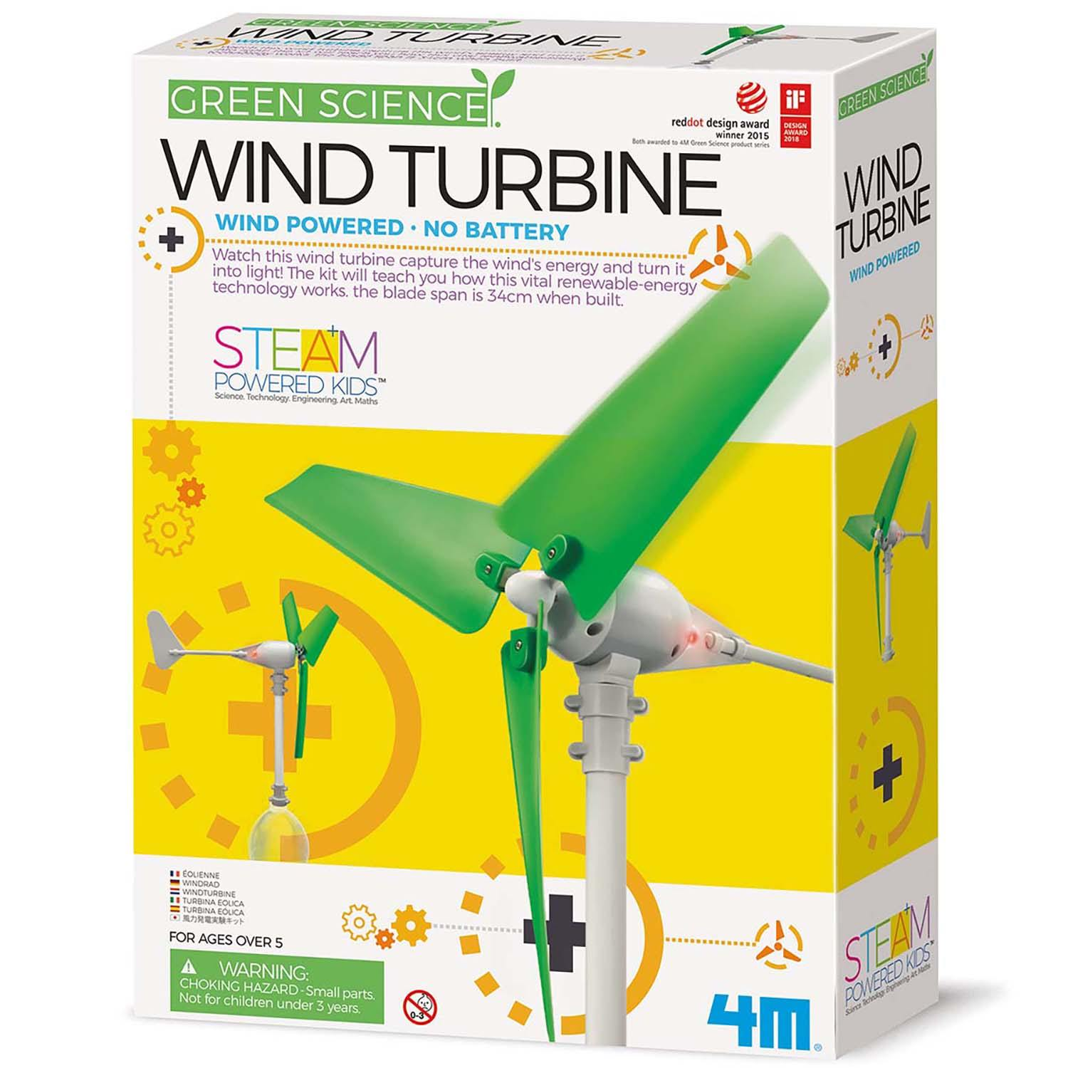 Build Your Own Wind Turbine Science Kit