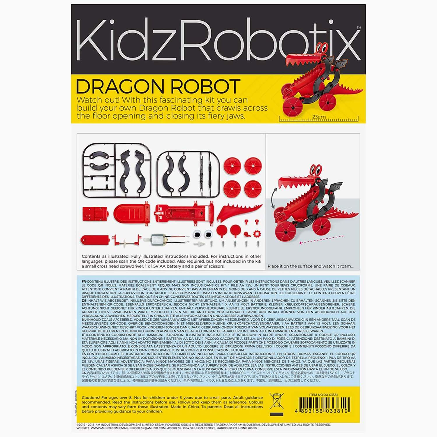 Kit Dragon Robot 7