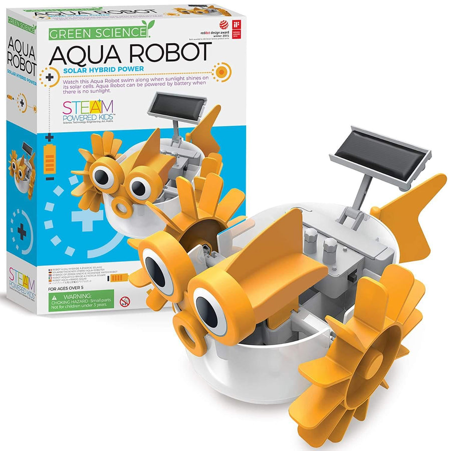 Kit Green Science Aqua Robot 1