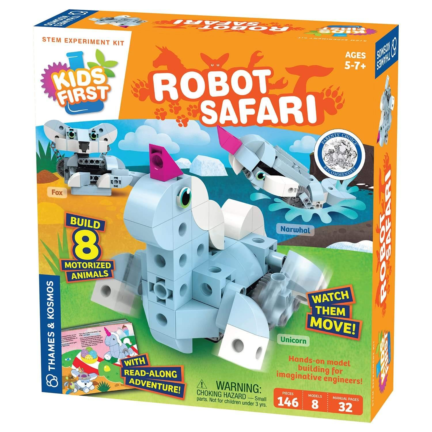 Robot Safari Model-Building Kit 1