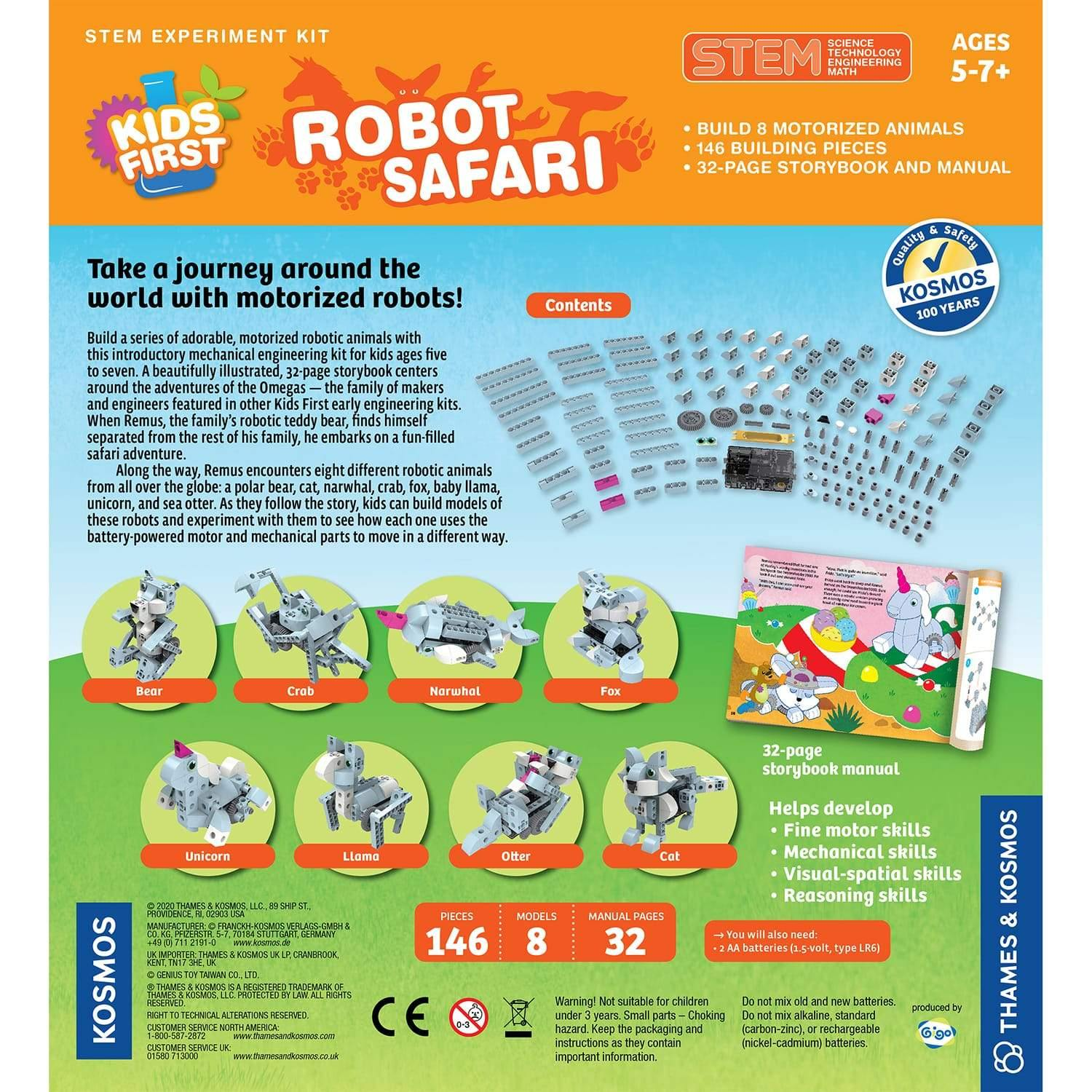 Robot Safari Model-Building Kit 2