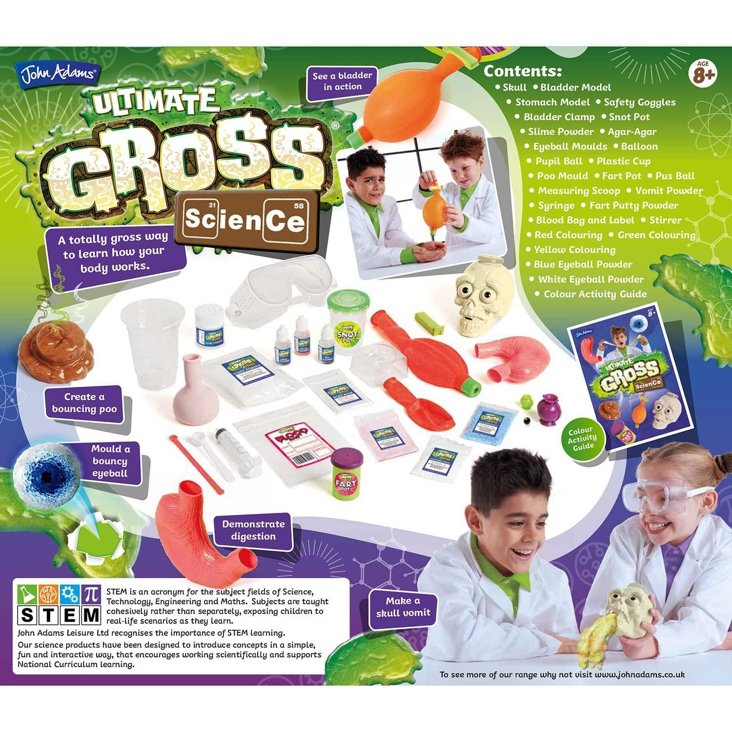 Ultimate Gross Science Kit 4
