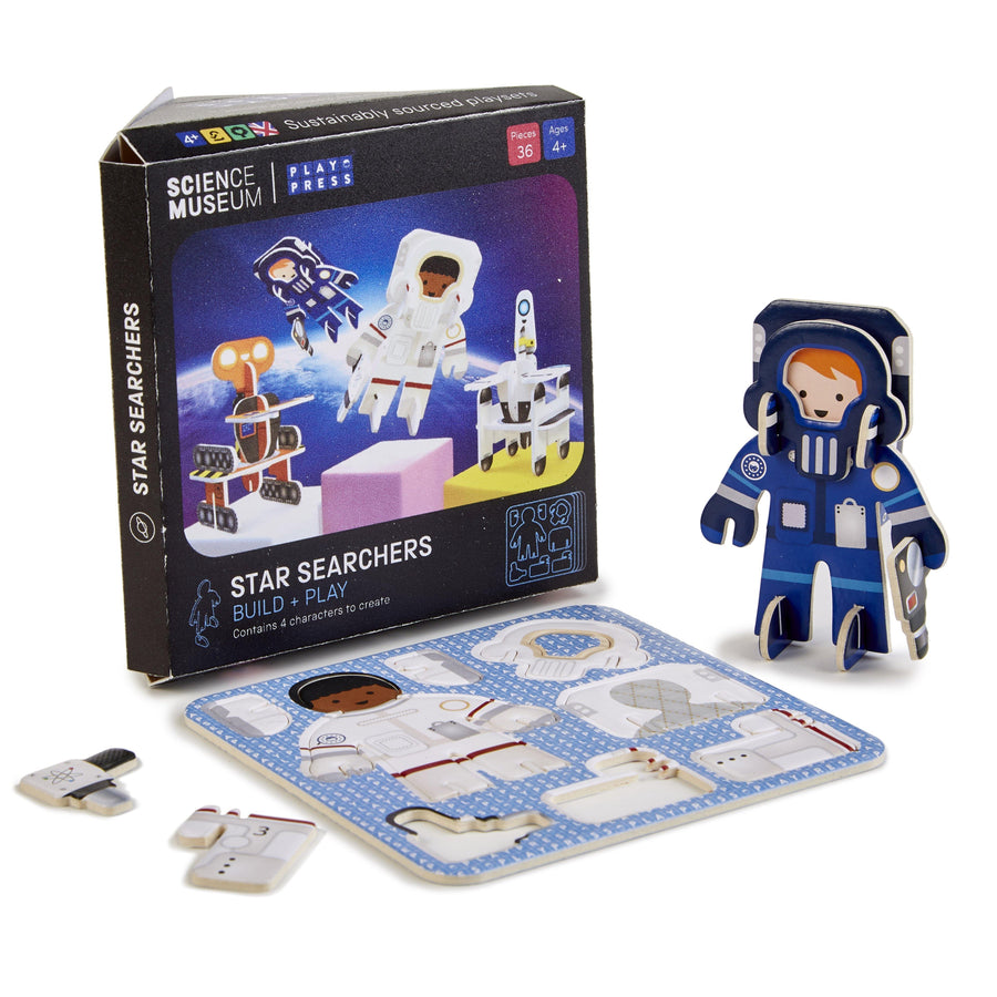 Science Museum Astronaut and Robot Construction Set - Kits - Science Museum Shop