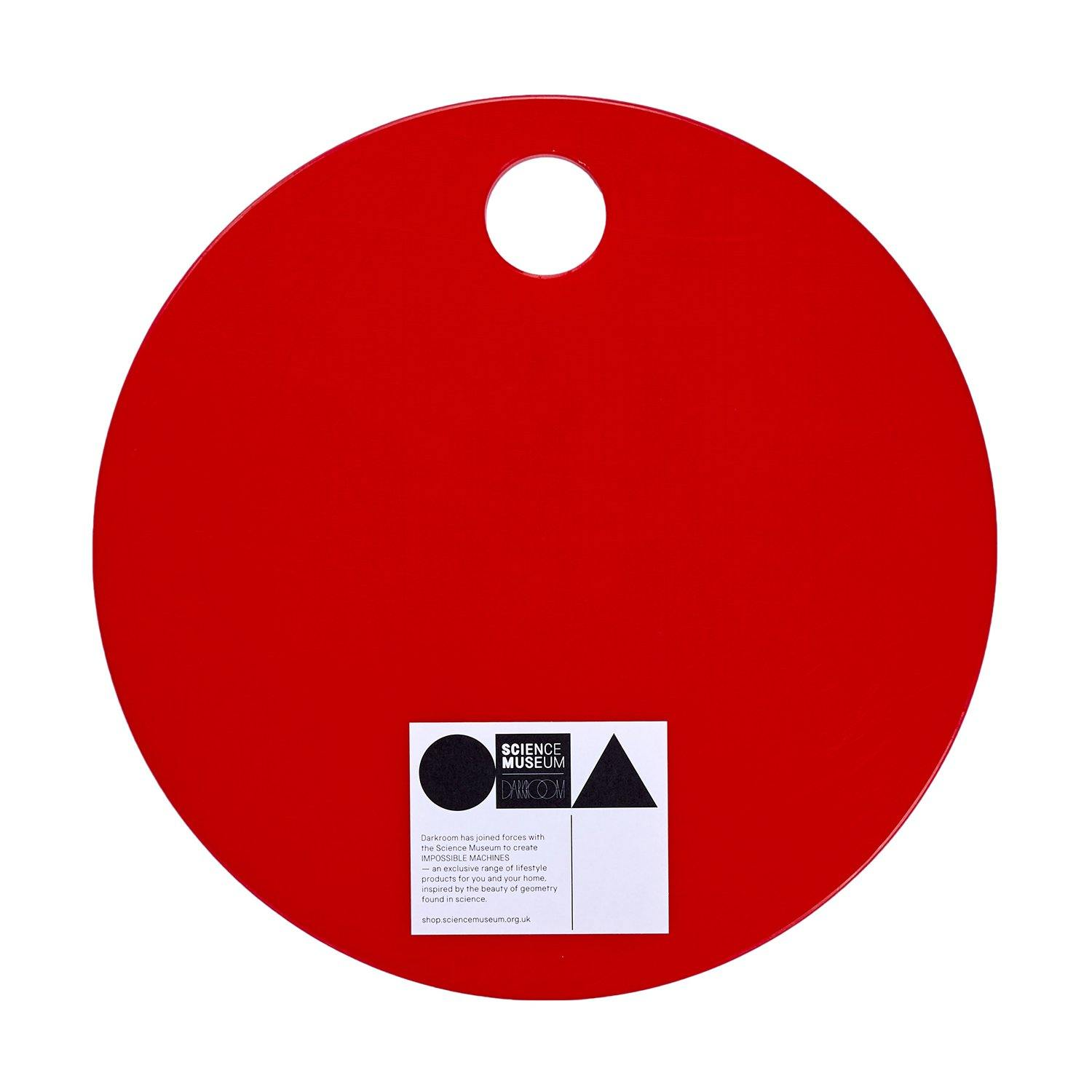 Science Museum Impossible Machines Chopping Board Red 3
