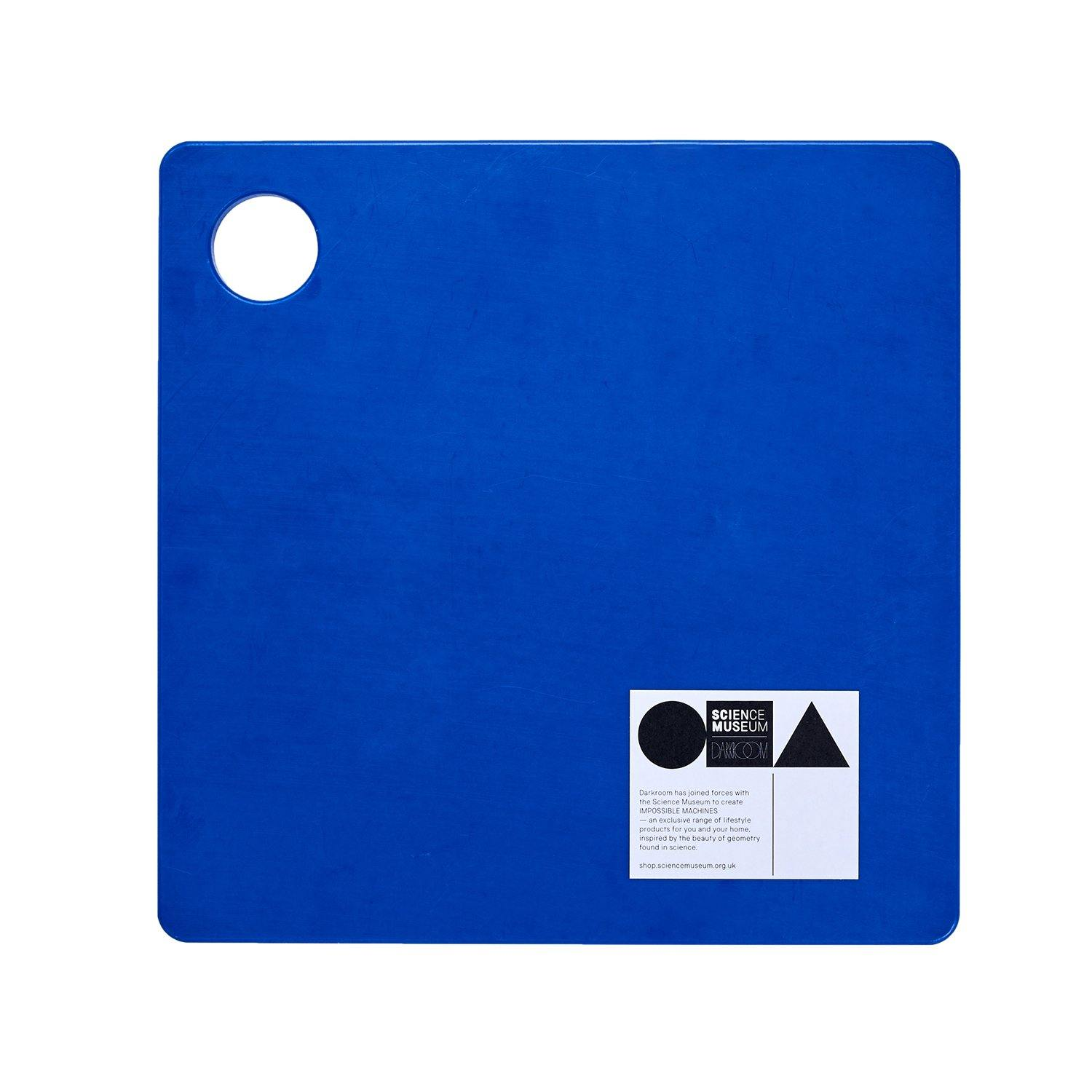 Science Museum Impossible Machines Chopping Board Blue 3