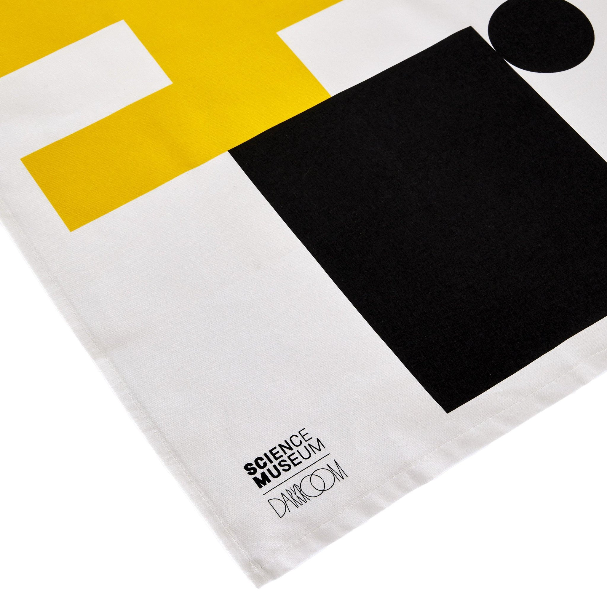 Science Museum Impossible Machines Tea Towel Yellow/Black 2
