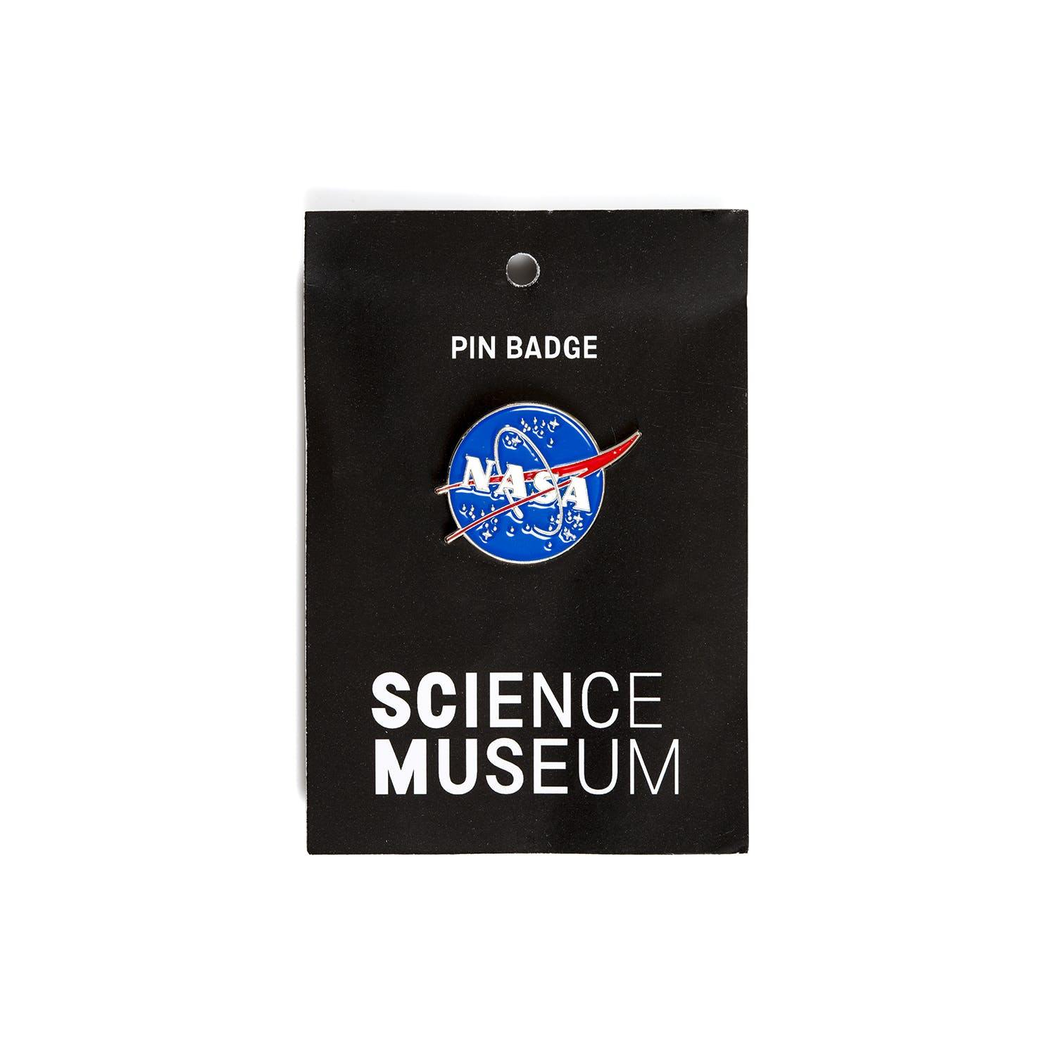 Science Museum NASA Pin Badge