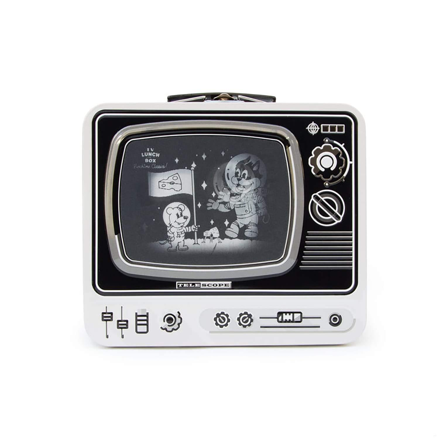 LDN Lunch Box TV Space (White) - Science Museum Shop 4