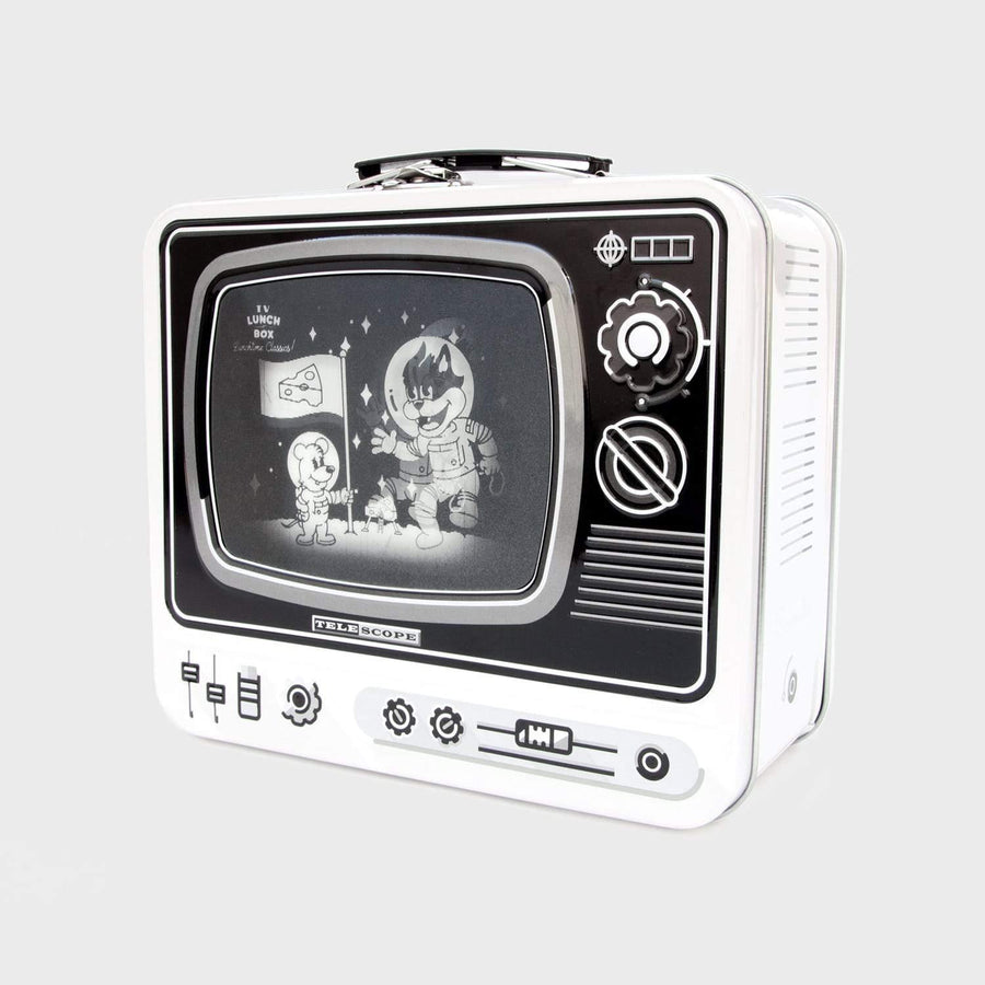 LDN Lunch Box TV Space (White) - Science Museum Shop