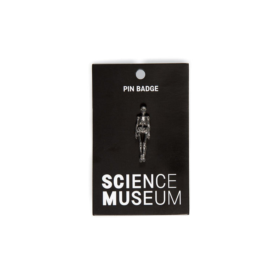 Science Museum Skeleton Pin Badge