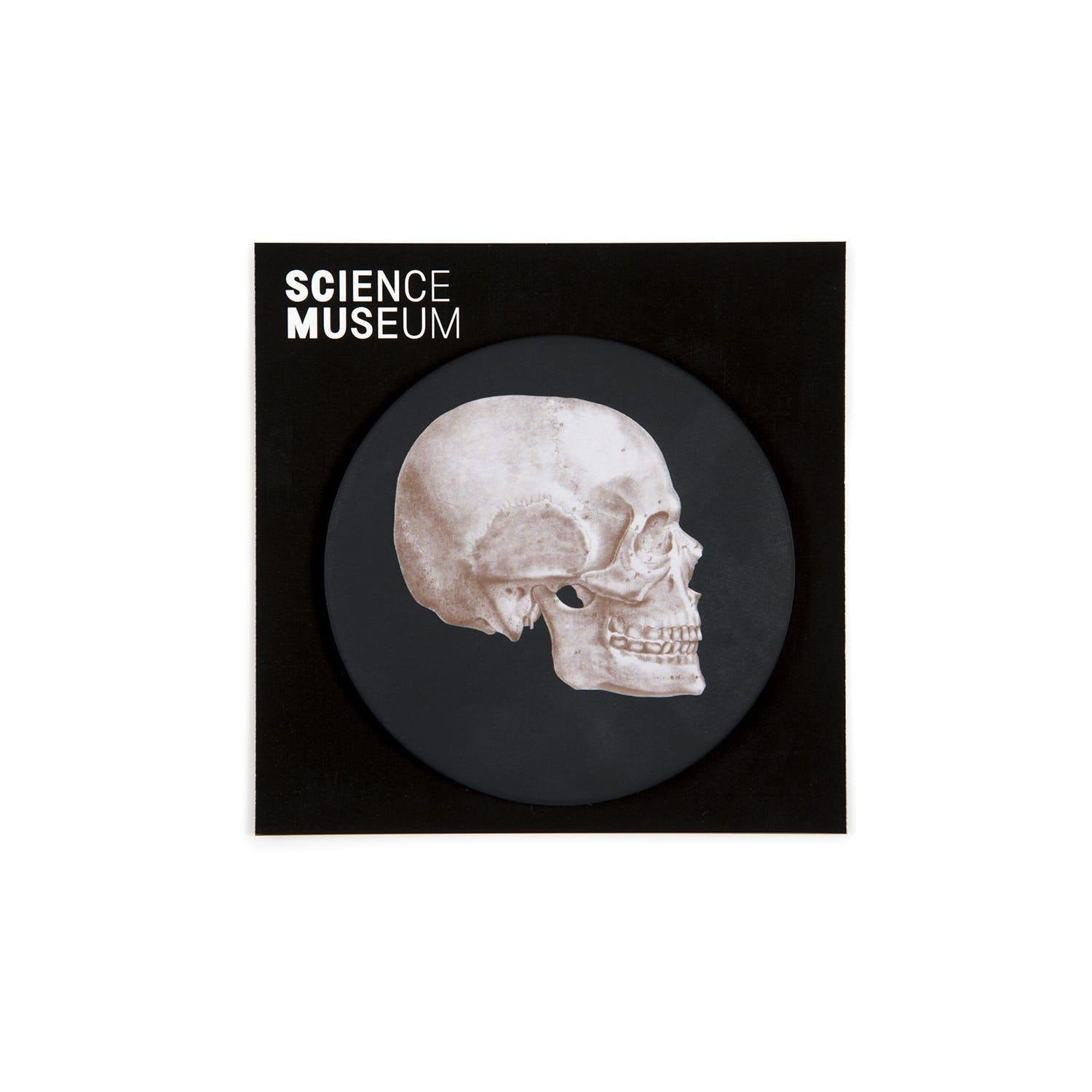 Science Museum Skull Anatomy Pocket Mirror-2
