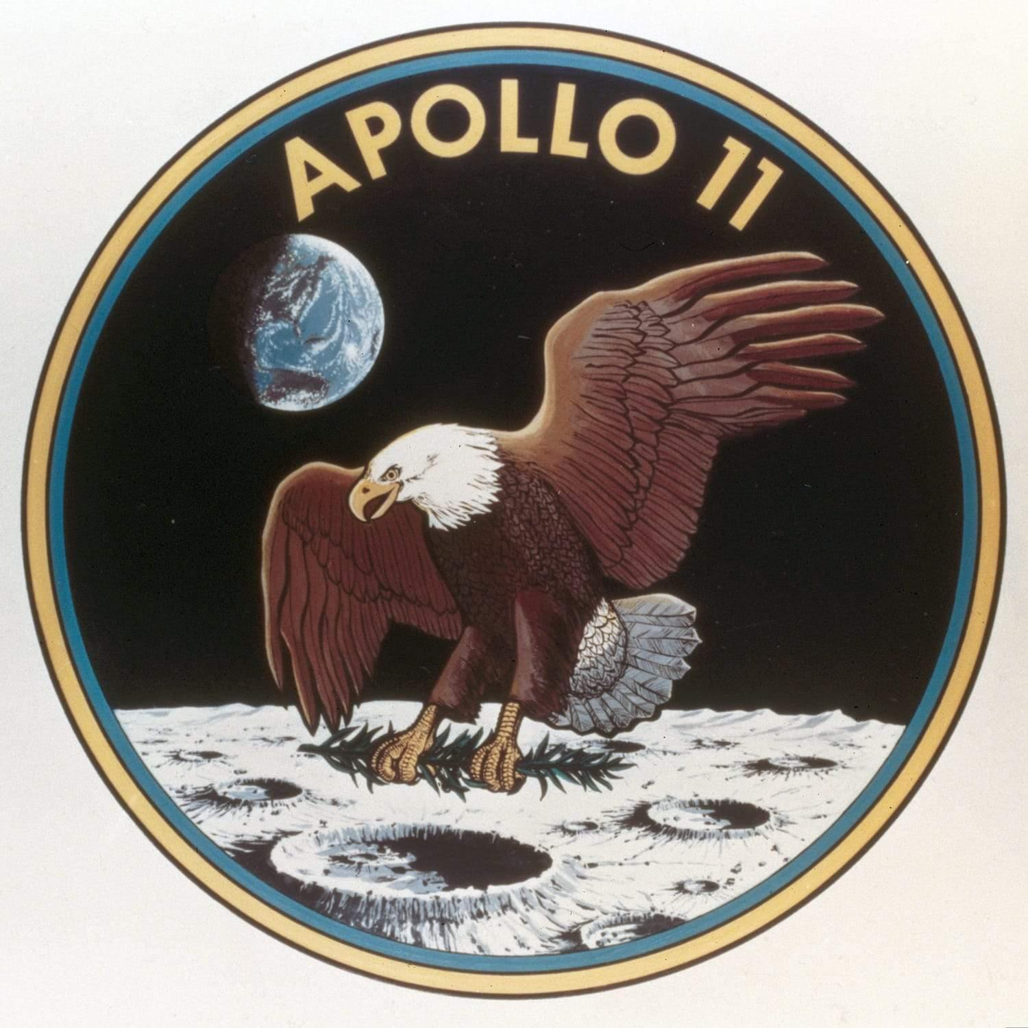 Science Museum Apollo 11 Patch Poster