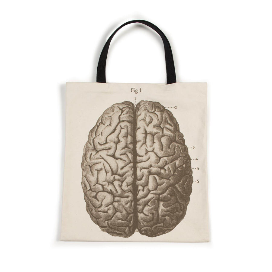 Science Museum Brain Anatomy Tote Bag