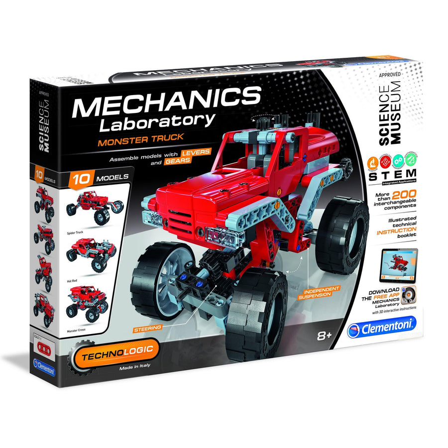 Science Museum Monster Truck Kit