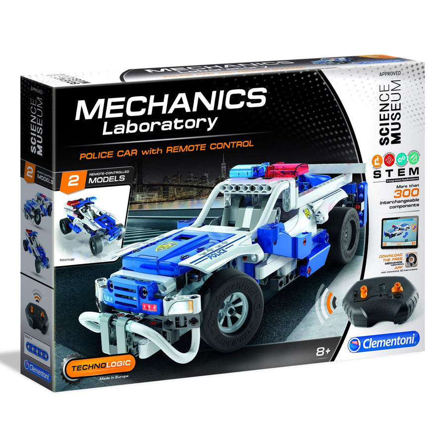 Science Museum Remote-Control Police Car Kit