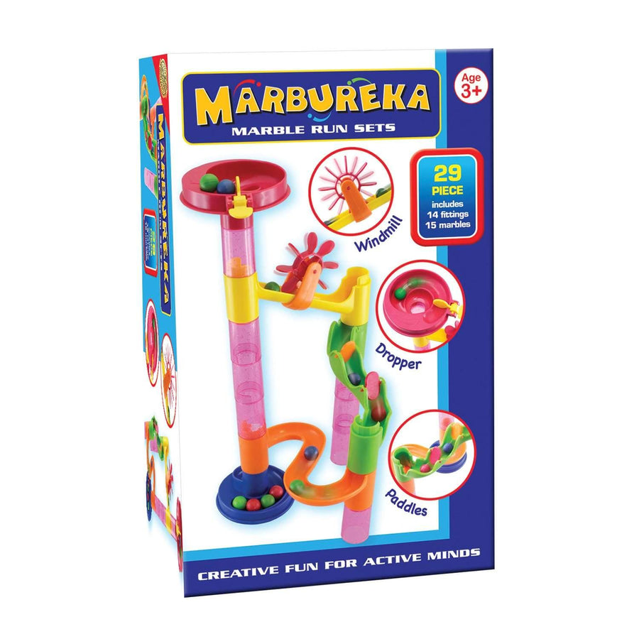 Marbureka 29-Piece Marble Run Set