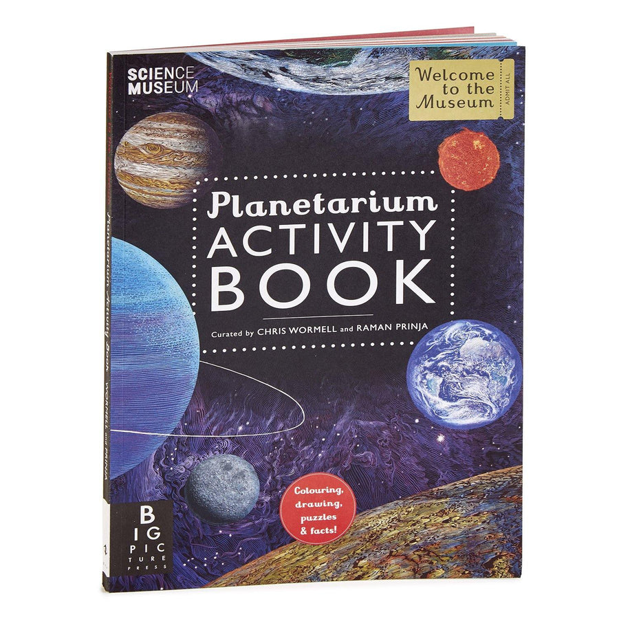 Science Museum Planetarium Activity Book