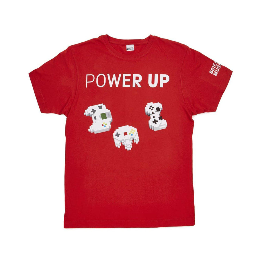 Science Museum Power Up T-shirt - Clothing - Science Museum Shop