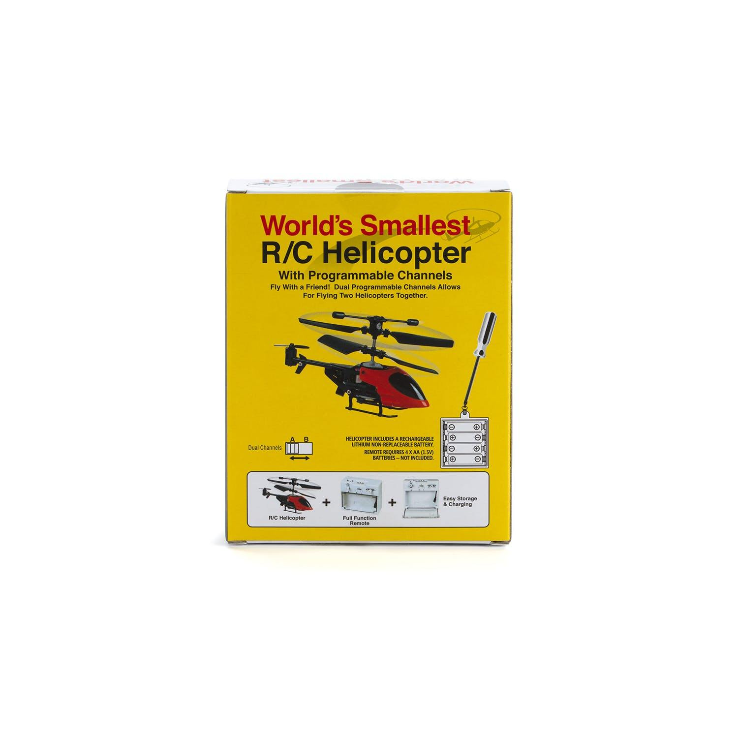 World's Smallest RC Helicopter-5