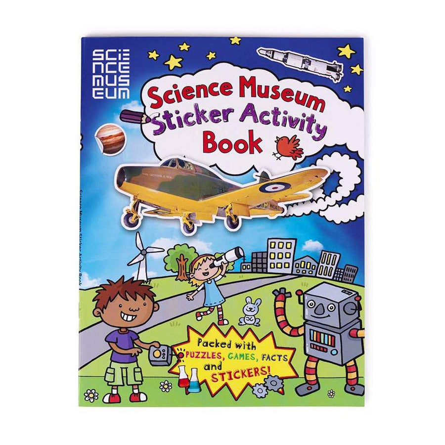 Science Museum Sticker Activity Book