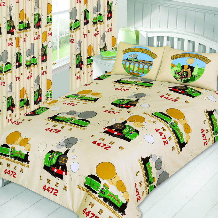 National Railway Museum Flying Scotsman Single Duvet Set