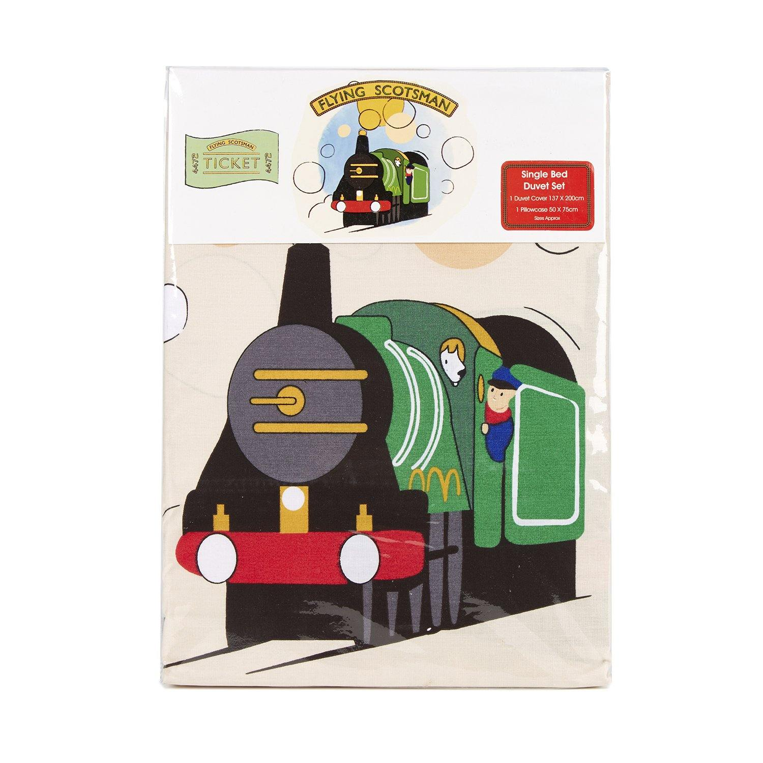 National Railway Museum Flying Scotsman Single Duvet Set3