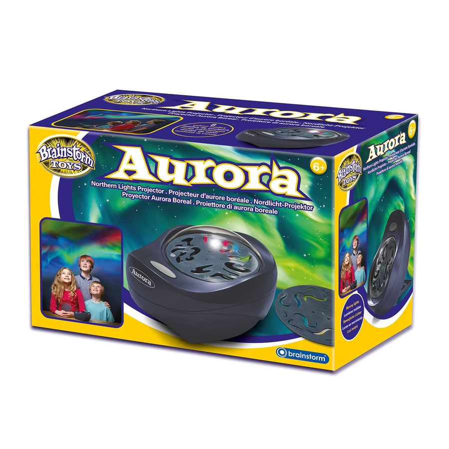 Northern lights projector in box
