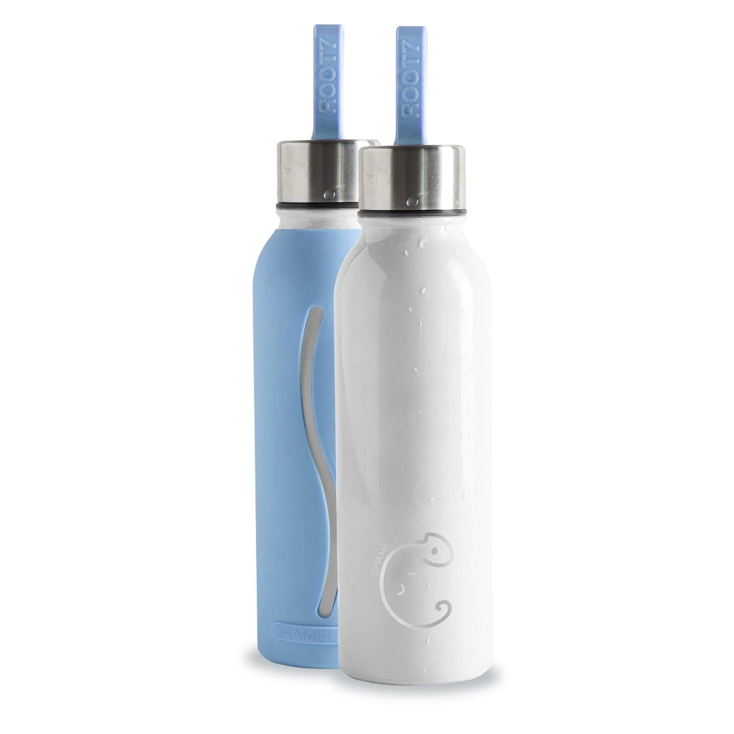 Root7 Chameleon Blue Water Bottle 1