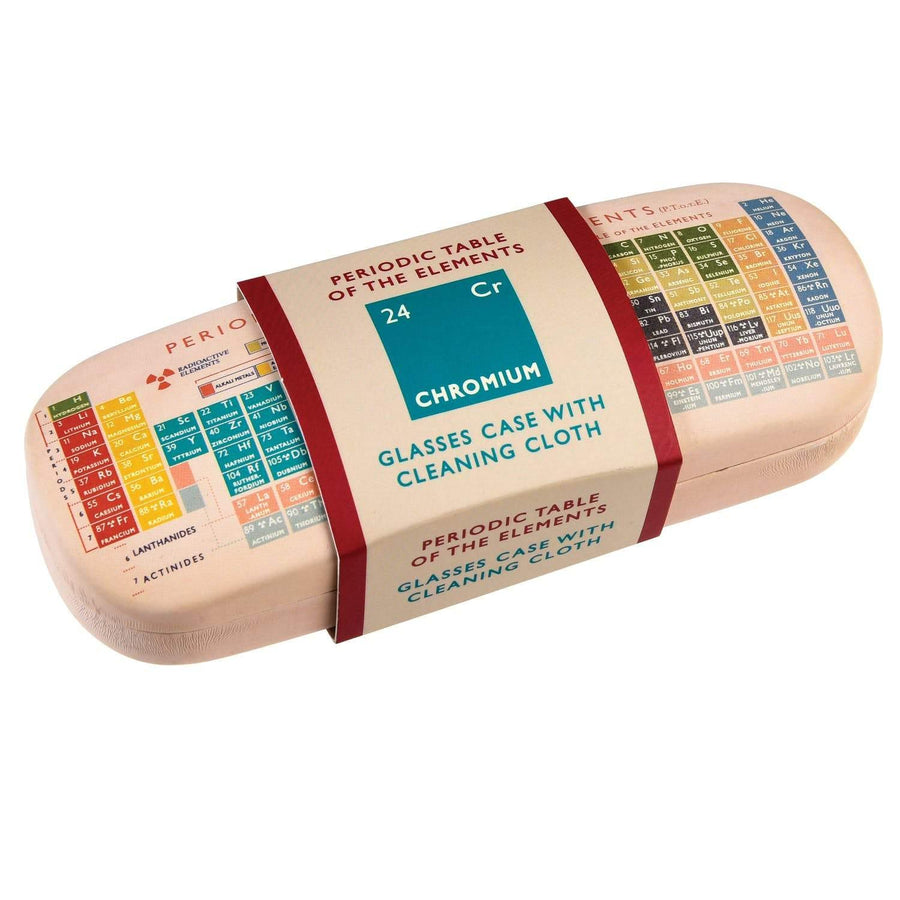 Periodic Table Glasses Case