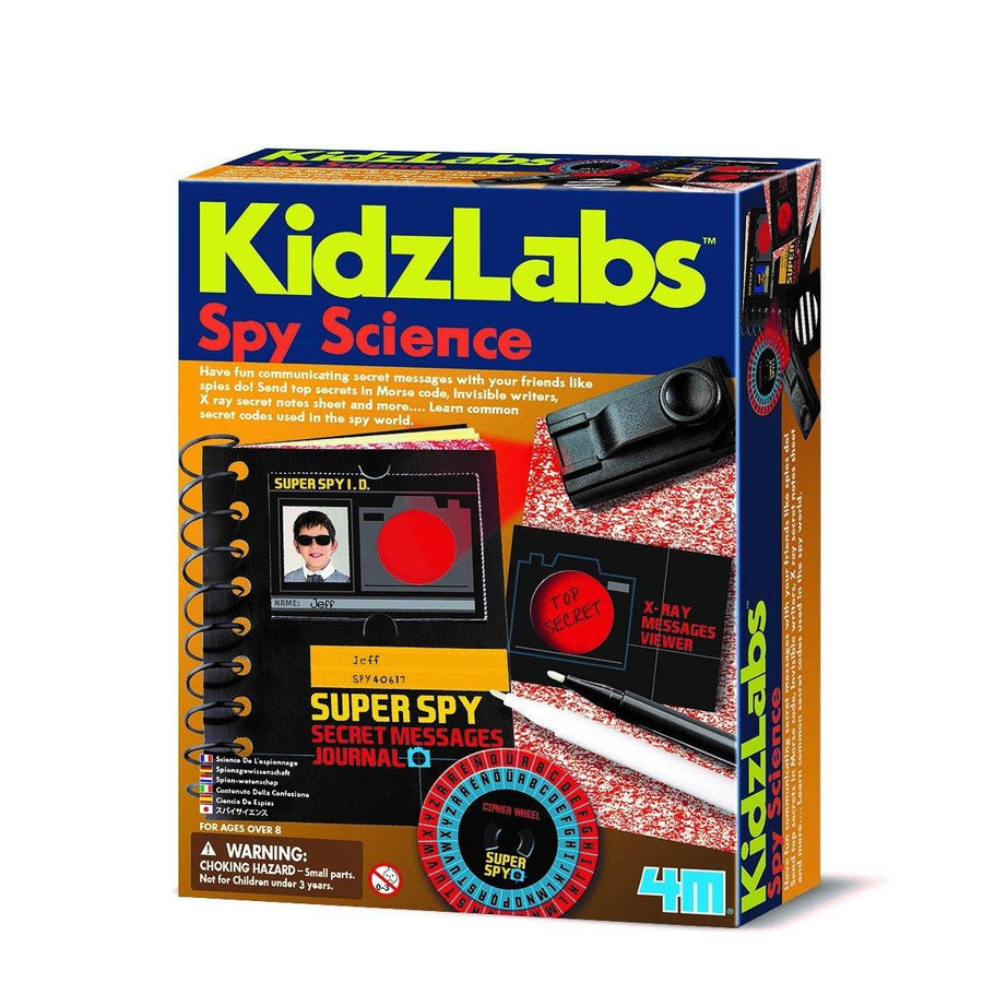 Kit Spy Science 1