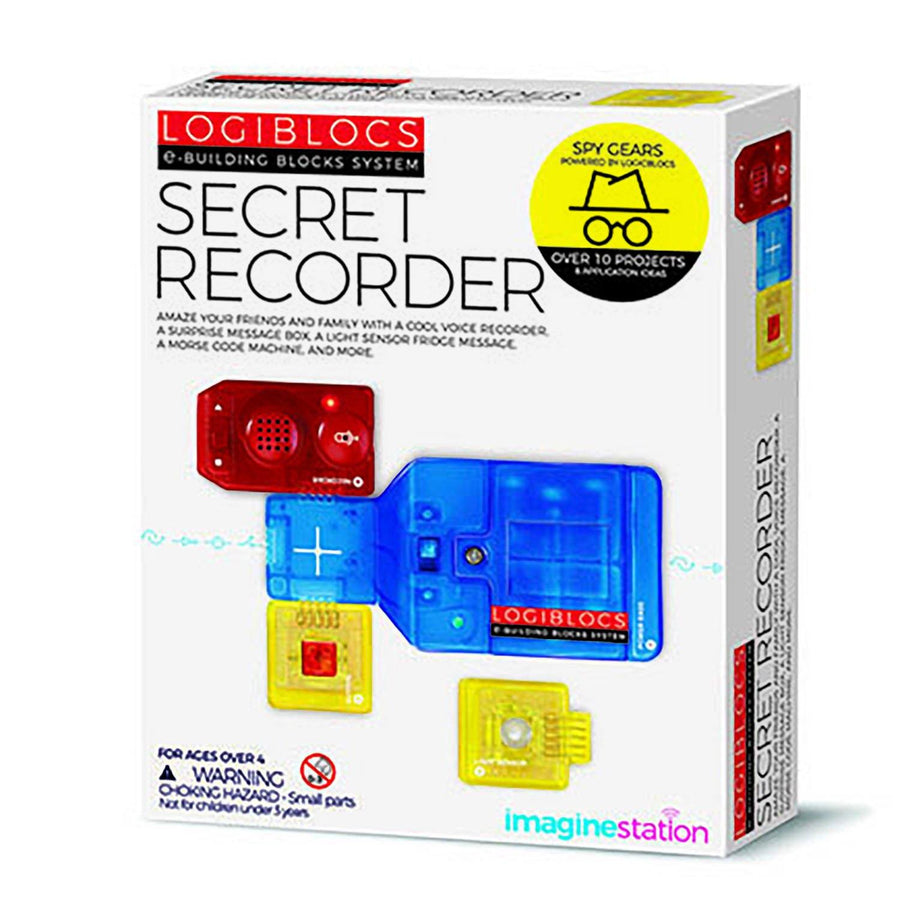 Logiblocs Spy Secret Recorder Kit