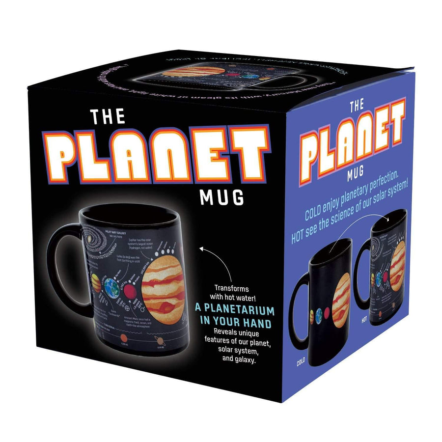 Colour Change Planets Mug