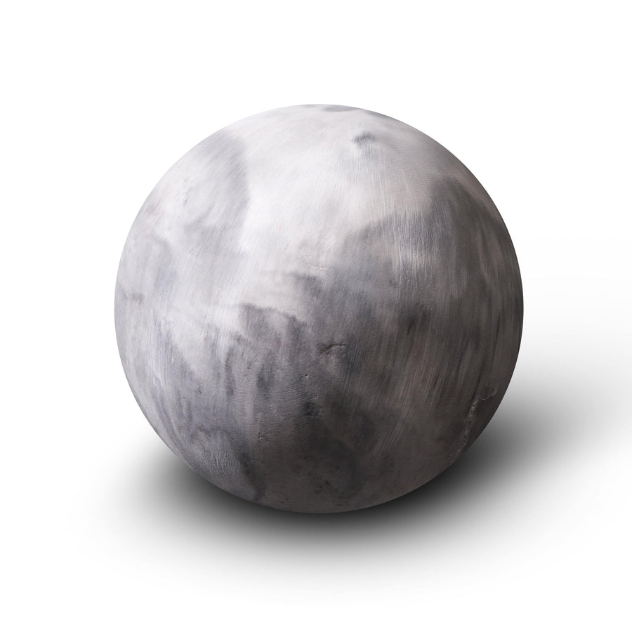 Small grey planet paperweight