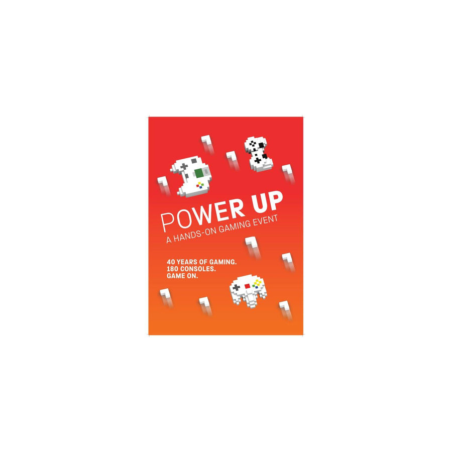 Science Museum Power Up Poster