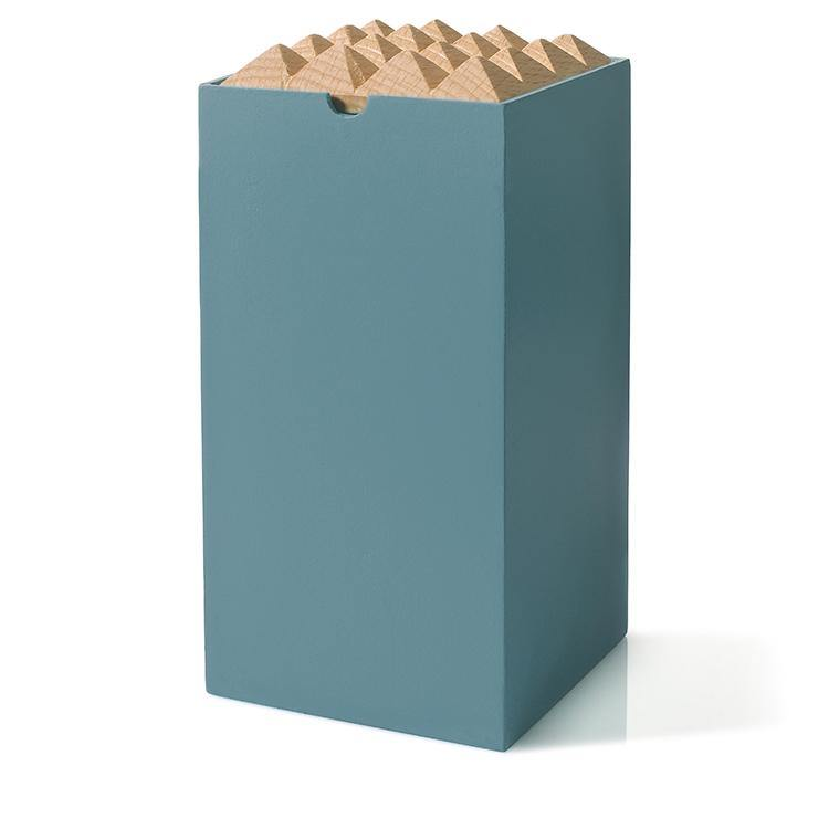 Pyramid Box Large Dusty Blue