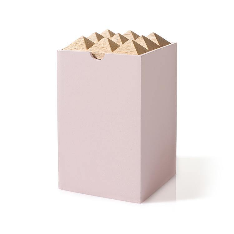 Pyramid Box Small Rosa