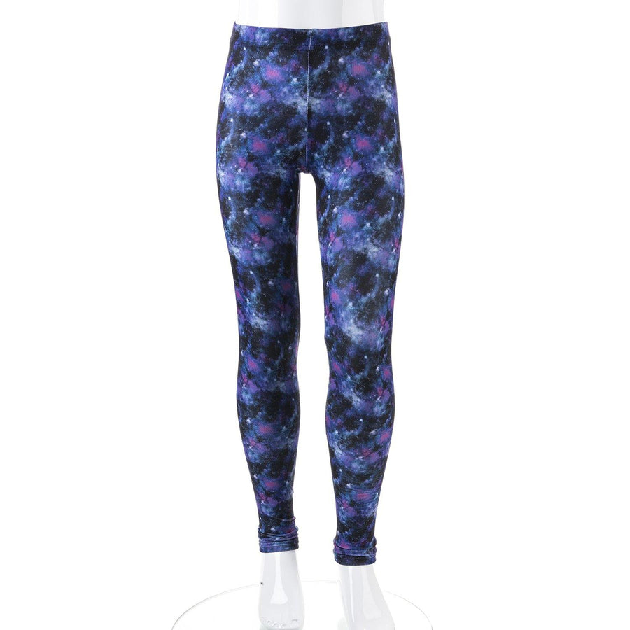 Space leggings on mannequin